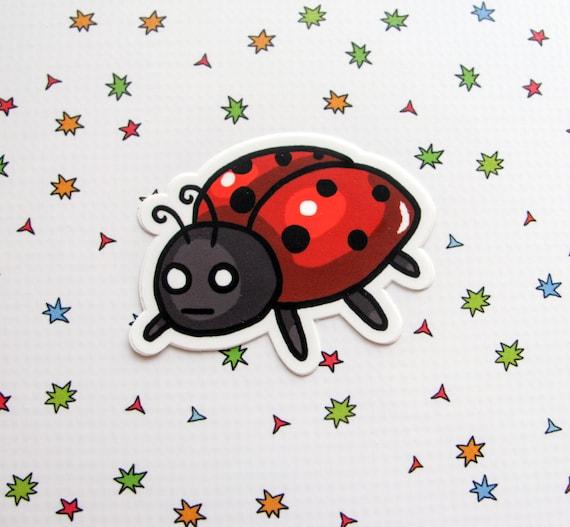Ladybug Sticker Laptop Sticker Car Sticker Bumper