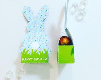 Easter bunny pocket (fits three mini eggs)