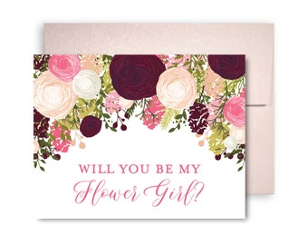 Will You Be My Bridesmaid Card, Bridesmaid Cards, Ask Bridesmaid, Bridesmaid Maid of Honor Gift, Matron of Honor, Flower Girl #CL113