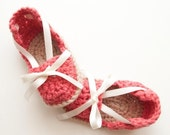 ON SALE Summer crochet espadrillas for newborn girl, pregnancy announce or baby shower gift, with bow and lace, baby boho summer shoes