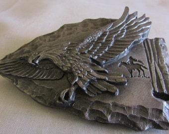 Siskiyou Pewter Arrow and Eagle Belt Buckle