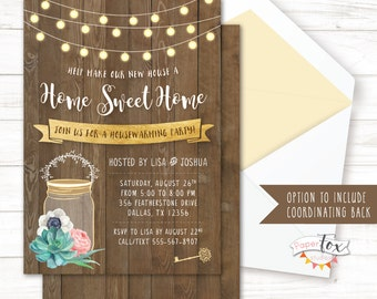 Housewarming invitation, Housewarming party invitation, Housewarming Party, House warming invitation, House warming party, PRINTABLE