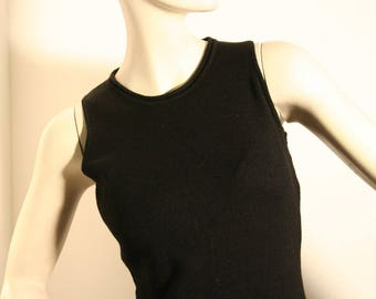 Black dress wool, Black Tunic, Made in Italy, Maxbaby, Maxmara