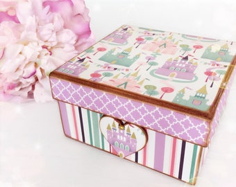 Fairytale Princess Palace Keepsake Box...