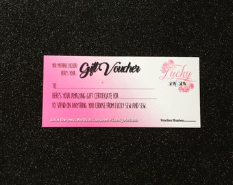 Gift Voucher - 10 Pounds - Certificate Present Christmas Breastfeeding Mama Mum
