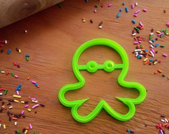 Cute Octopus 3D Printed Cookie Cutter
