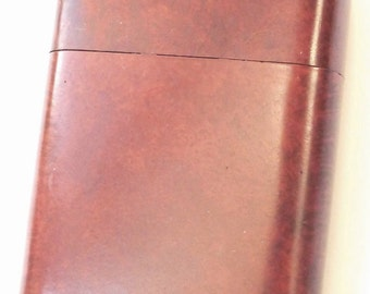 Vintage Burr Amboyna Cigar Case