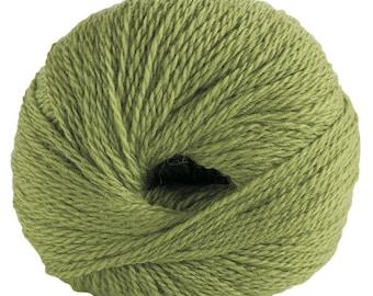 KNIT PICKS Palette Yarn, Fingerling, 50g, 231 Yds, Color - Edamame
