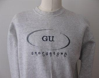 Vintage Georgetown University Hoyas sweatshirt Adult XL