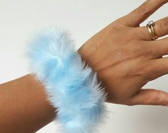 Black Oil Slick Shiny Hair Scrunchie by AdornedScrunchies on Etsy 73ac7380224