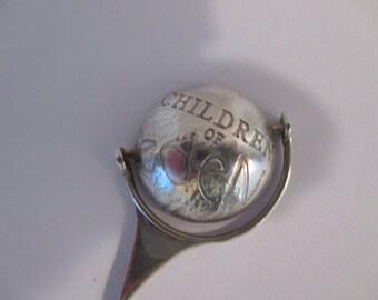 Rare Children of Eden Silver Hat Pin