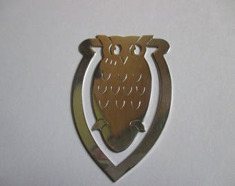 Silver Owl Book Mark