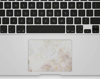 Transparent Trackpad Sticker Decal for MacBook - Golden Rhythm
