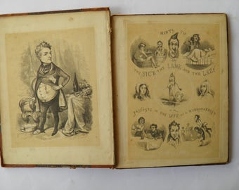 Hints to the Sick the Lame and the Lazy Illustrated 1847
