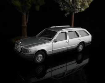 Vintage Toys, Collectible, Miniatur Herpa Car, H0, Mercedes-BENZ 300TE, Old-timer, West Germany / Vintage Herpa Car / Mans gift