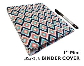 "a5 Planner Binder, a5 Binder Cover SOUTHWEST DIAMONDS 1"" Mini Binder Cover, Bullet Journal Accessories, Recipe Binder, Photo Album Scrapbook"