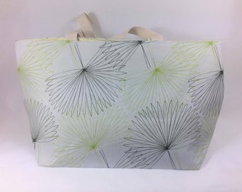 Fan Leaf Beach Bag
