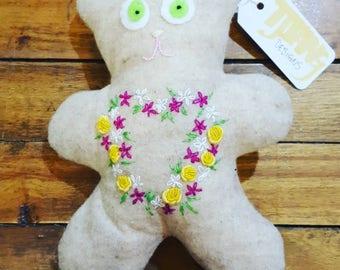 Teddy Bear Sweet Rose
