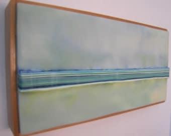 Encaustic Painting Stratum 81