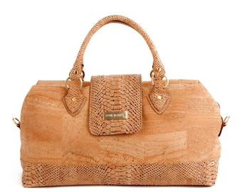 """Cork Handbag """"Love & Hope"""" our news collections hand made just for you!"""