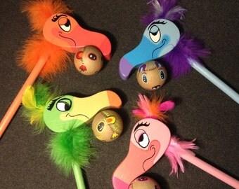 Deluxe Flamingo Croquet Set