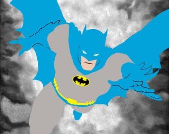 Batman - (ART PRINT)