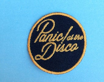 Panic! At the disco Iron-on patch
