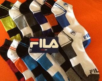 FILA ANKLE SOCKS - 6 Pairs