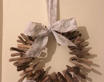 Handmade Driftwood Wreath