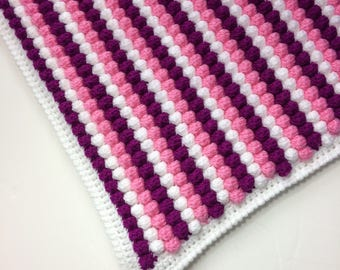 Crochet Bobble Blanket