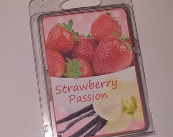 Strawberry Passion Soy Wax Melts