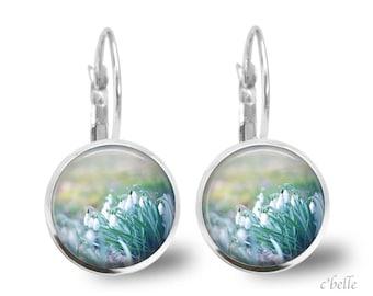 Earrings flowers spring 11