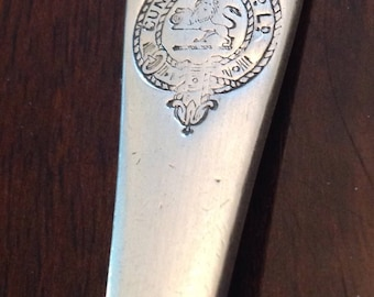 Cunard Steamship Co Elkington Plate Silver Plate Spoon Antique English
