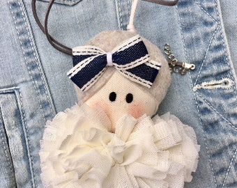 Doll pendant for necklace