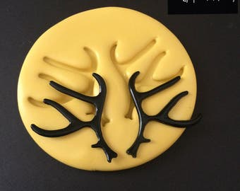Large Antler Silicone Mold