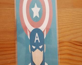 Captain America Bookmark