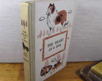Vintage Book:  Junior Deluxe - The Heart of a Dog by Albert Payson Terhune - 1957 Edition