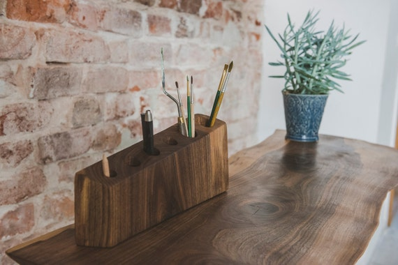 Desk Accessories Organizer Wood Wooden