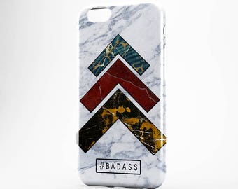 White Marble iPhone Case Geometric iPhone 7 Case iPhone 7 Plus Quote iPhone 6 Case iPhone 5 Arrow iPhone 6 Plus Case iPod Marble Galaxy Case