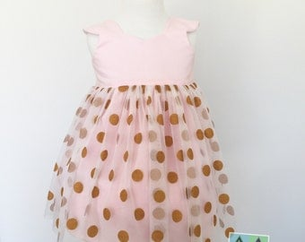 Baby girl party first birthday dress
