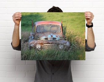 Antique Mercury M1 Truck Fine Art Photography Print - 18 X 24