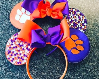 Clemson Tigers Minnie Ears