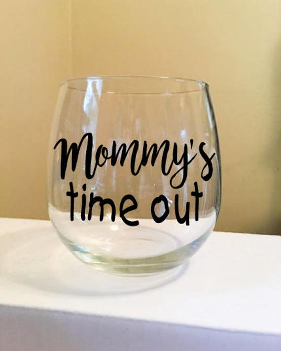 Mother's Day Stemless Wine Glass or Metal Tumbler