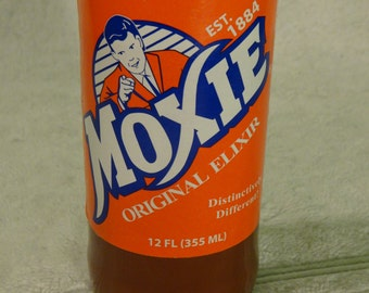 Moxie Soda Pop Elixir Bottle Scented Candle - A True Classic!