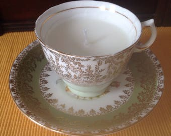 Candle teacup