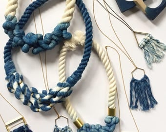 Fiber Necklace Sample- Renegade Craft Special