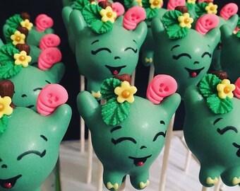 Shopkins Apple Blossom Cake Pops