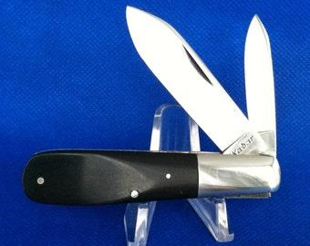 Vintage Kabar 2 Blade Barlow Knife USA.....Spear & Pen