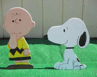 Peanuts Charlie Brown Yard Sign