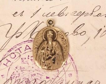 Metal Religious Pendant, Orthodox Pendant, Christianity, Orthodox Jewelry, Orthodox Icon, Image, Orthodox Christian Symbol of faith, Charm